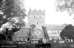 Ewenny, Church 1898