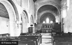 Ewenny, Church Interior 1898