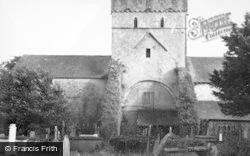 Ewenny, The Priory Church 1949