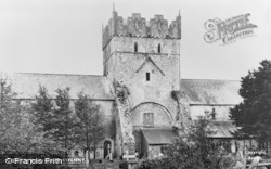 Ewenny, The Priory Church c.1960