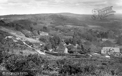 Ewhurst, Leith Hill From Pitch Hill 1927