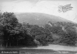 Ewhurst, Pitch Hill From The Warren 1904