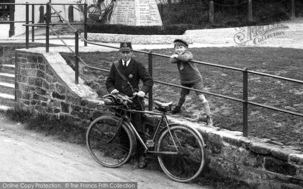Photo of Ewhurst, Postman 1929
