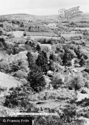 Ewhurst, The View From Pitch Hill c.1960