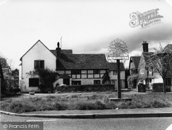 Ewhurst, The Village Sign c.1960