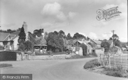 Ewyas Harold, Bridge Farm And Forge c.1955