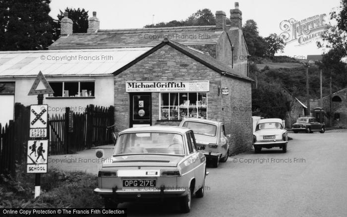 Photo of Ewyas Harold, Dulas Road, Michael Griffith's Stores c.1965