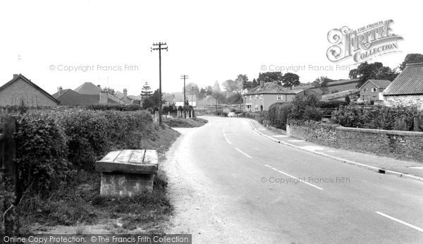 Photo of Ewyas Harold, Main Road c.1965