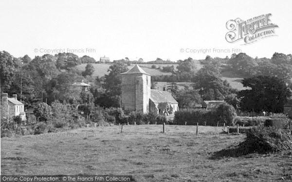 Photo of Ewyas Harold, The Church And Village c.1965