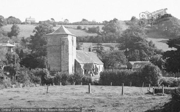 Photo of Ewyas Harold, The Church c.1965
