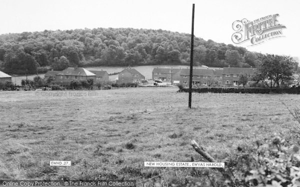 Photo of Ewyas Harold, The New Housing Estate c.1965