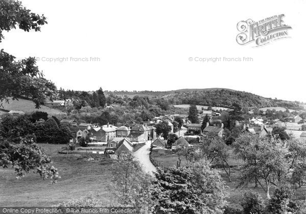 Photo of Ewyas Harold, The Village From The Castle Tump c.1955