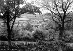 Ewyas Harold, The Village From The Common c.1955