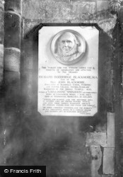 Exeter, Cathedral, Blackmore Memorial 1912