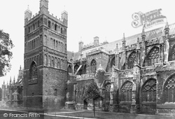 Exeter, Cathedral c.1875