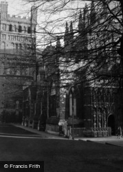Exeter, Cathedral c.1950