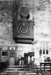 Exeter, Cathedral Clock 1894