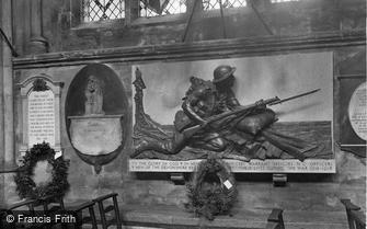 Exeter, Cathedral, Devonshire Regiment Memorial 1924