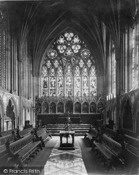 Exeter, Cathedral, Lady Chapel c.1876