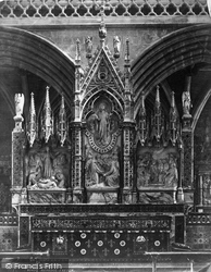 Exeter, Cathedral, Reredos c.1876
