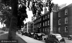 Exeter, Devon And Exeter Hospital c.1955
