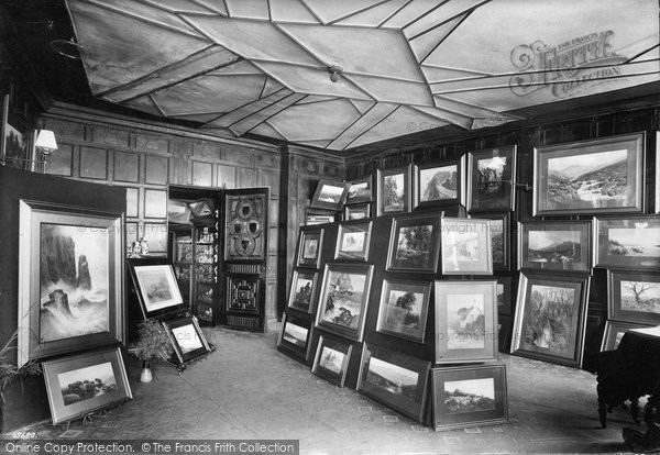 Photo of Exeter, Elizabethan Gallery, Mol's Coffee House 1911