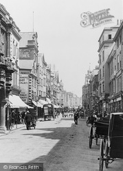 Exeter, Fore Street 1896