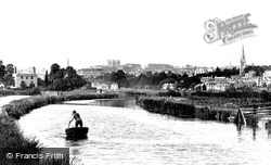 Exeter, From The Canal 1896