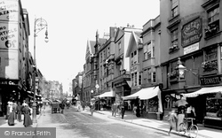 High Street 1900, Exeter