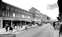 High Street c.1960, Exeter