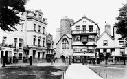 Exeter, Mol's Coffee House 1906