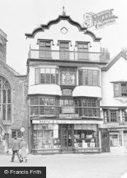 Exeter, Mol's Coffee House c.1955