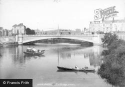 Exeter, New Exe Bridge 1906