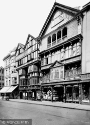 Old Houses, High Street 1924, Exeter