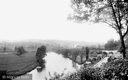 Exeter, On The Exe 1896