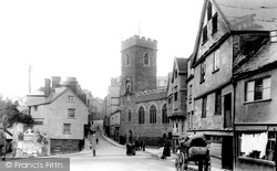 St Mary Steps Church And Westgate 1912, Exeter