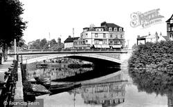 The Bridge c.1955, Exeter