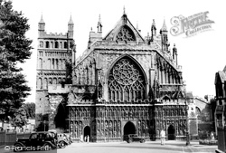 The Cathedral c.1940, Exeter