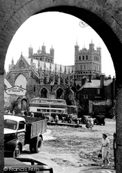 The Cathedral c.1950, Exeter
