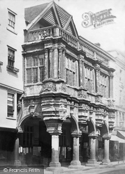 Exeter, The Guildhall c.1875