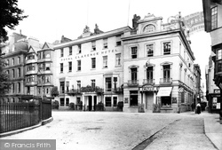The Royal Clarence Hotel And Dellars Café 1907, Exeter