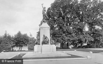 Exeter, War Memorial 1924