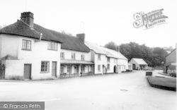 Exford, Chapel Street c.1960