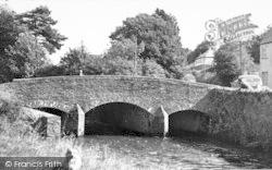 Exford, The Bridge c.1955