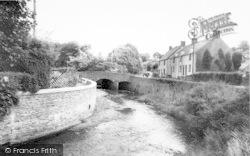 Exford, The Bridge c.1960