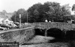 Exford, The Bridge c.1965