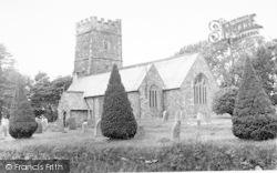 Exford, The Church c.1955