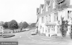 Exford, The Crown Hotel And Village c.1965