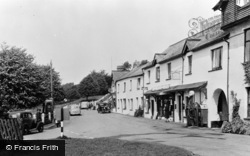 Exford, The Green c.1955