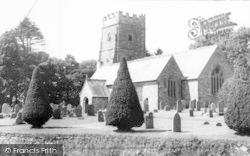 Exford, The Parish Church c.1960
